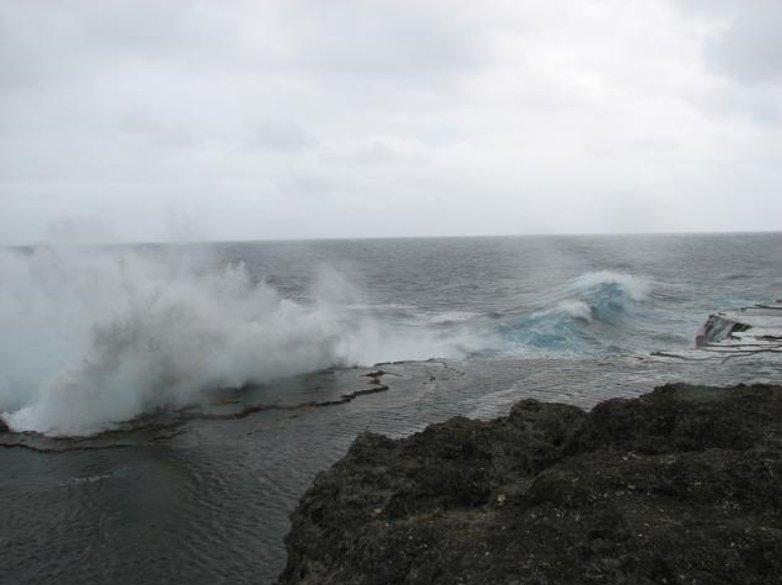 Blowholes onTongatapu, Tonga