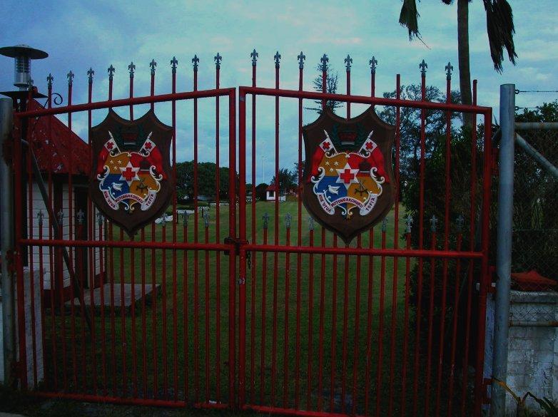 The Castel Gates in Nuku'alofa, Tonga