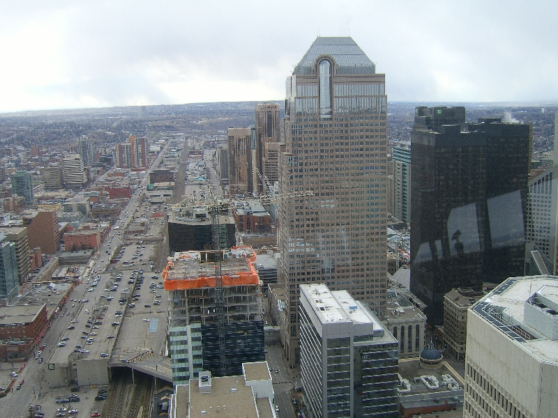 Panorama from the Calgary Tower, Canada