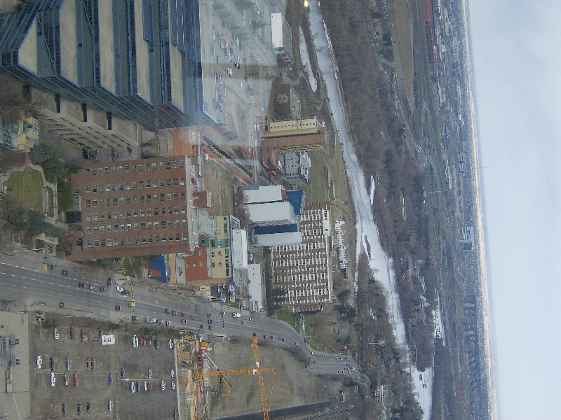 Pictures from the Calgary Tower, Canada
