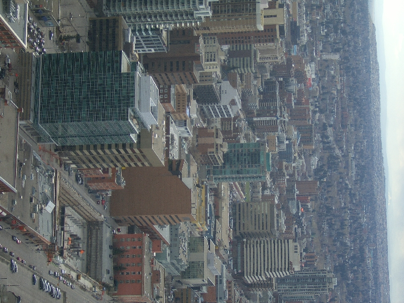 Photos from the Calgary Tower, Canada