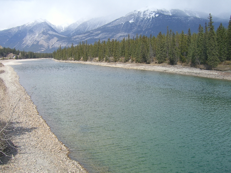 River at Banff National Park, Calgary Canada