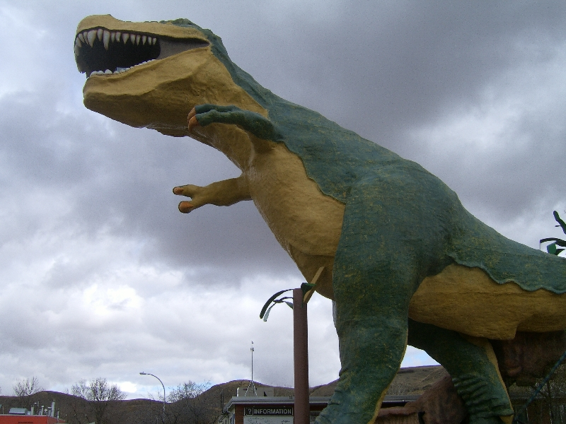 The Dinosaur Towe in Calgary, Canada