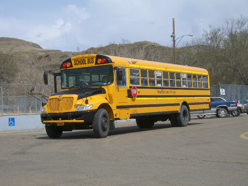 A Canadian school bus, Canada
