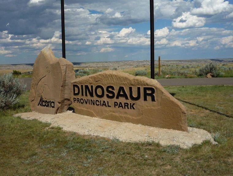 The Dinosaur Provincial Park, Canada