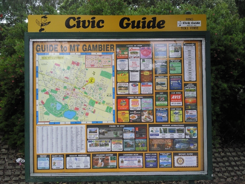 Civic Guide of Mount Gambier, Australia