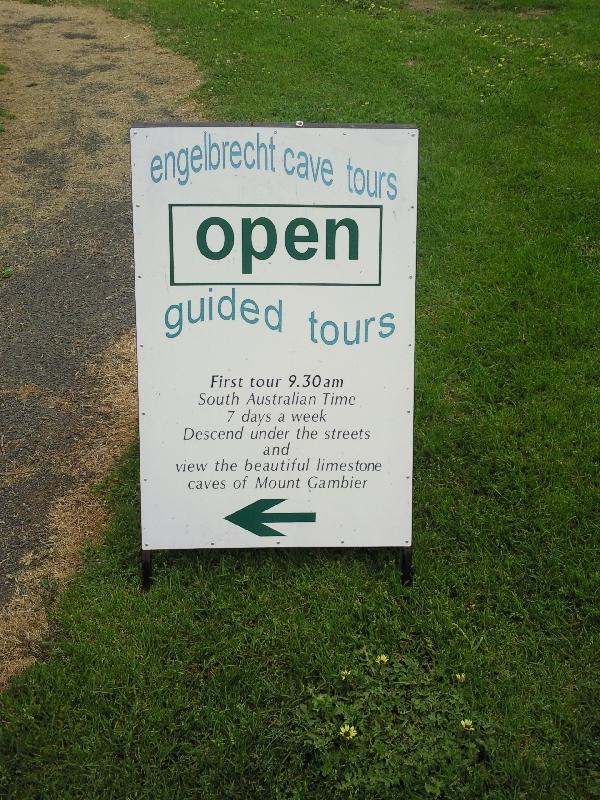 Tours at the Engelbrecht Cave, Mount Gambier Australia
