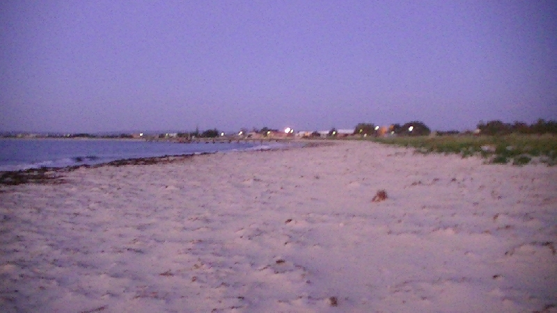 The beach in Jurien Bay, Australia