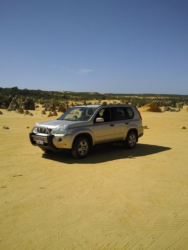 Cervantes Australia Driving through the Pinnacle Desert
