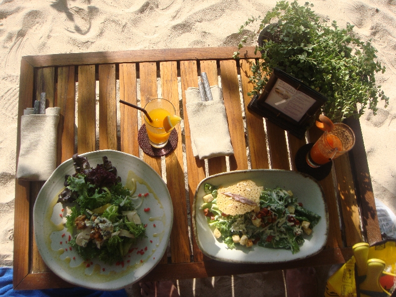 Best salads in the world!, Railay Beach Thailand