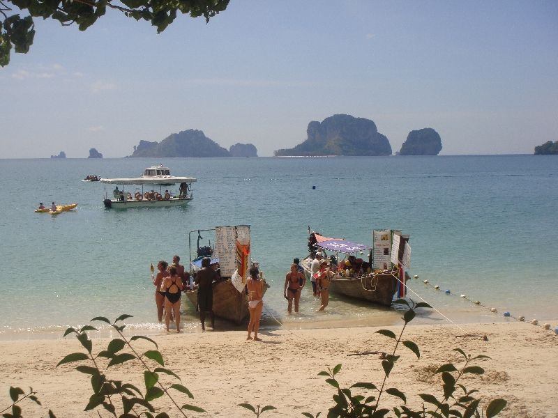 Railay, Ao Nang, Krabi, Railay Beach Thailand