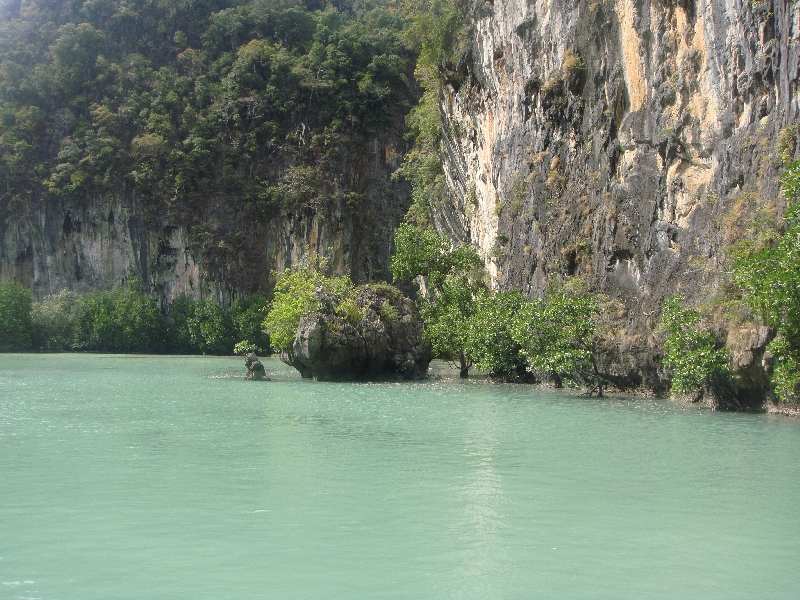 Lagoon waters, Ko Hong Thailand