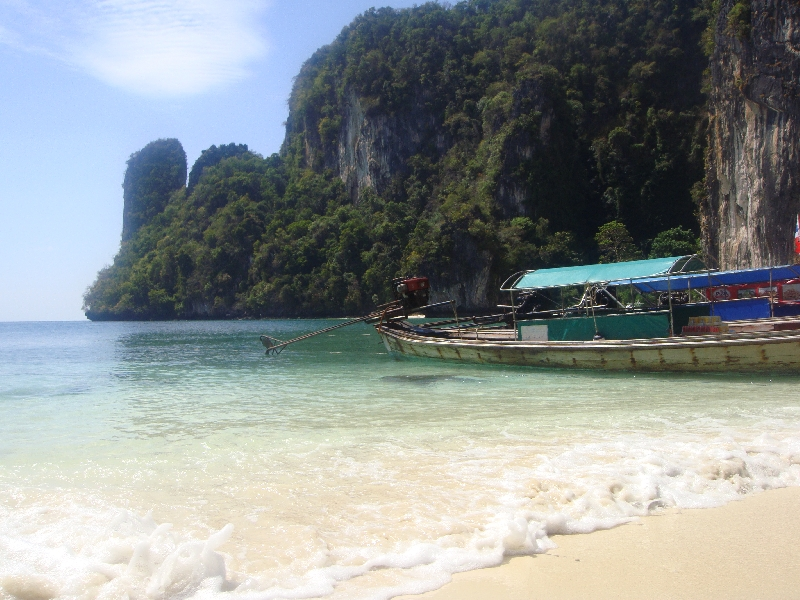 The beach in Ko Hong, Thailand