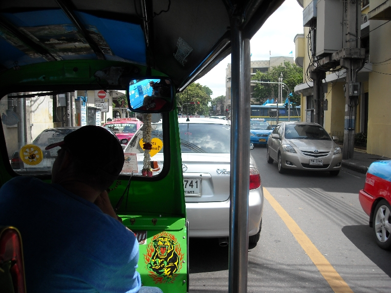 Tuk Tuk Driver in Bangkok, Thailand