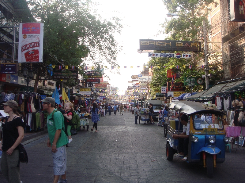 Pictures of Khao San Road, Bangkok Thailand