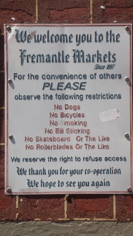 The Fremantle Markets, Fremantle Australia