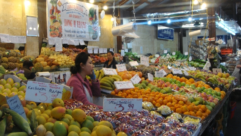 Pictures of the Fremantle Market, Australia