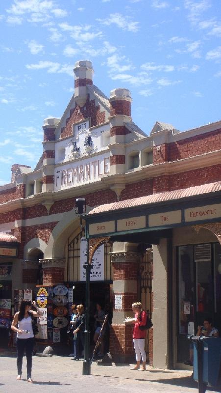 Colonial Buildings in Fremantle, Australia