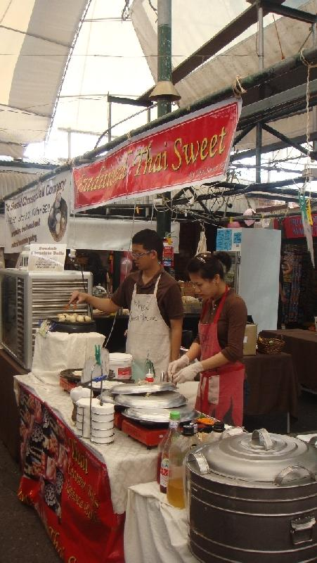 Thai Sweets on the Market, Australia