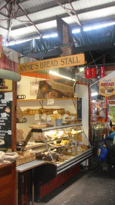 Fresh bakes bread in Fremantle, Australia