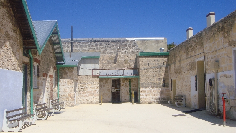 Pictures of the Fremantle prison, Australia
