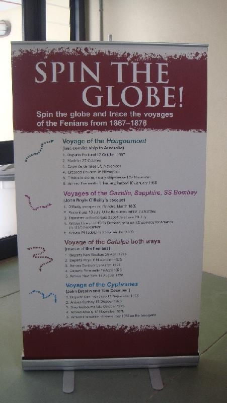 Spin the globe, Australia