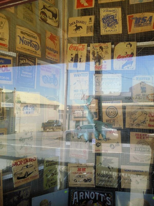 Antique shop in Northampton, Australia