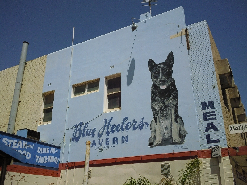Great painted billboards, Geraldton Australia