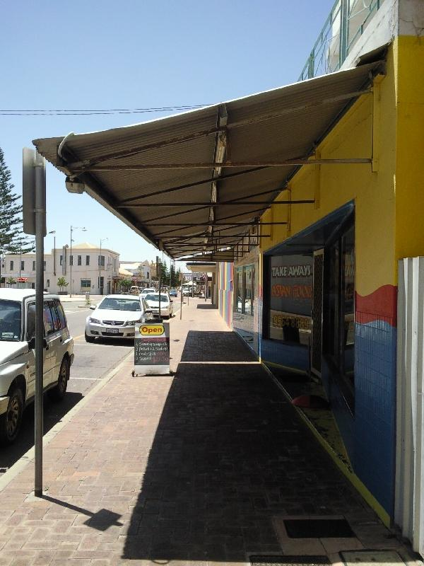 Colourful streets and shops, Geraldton Australia