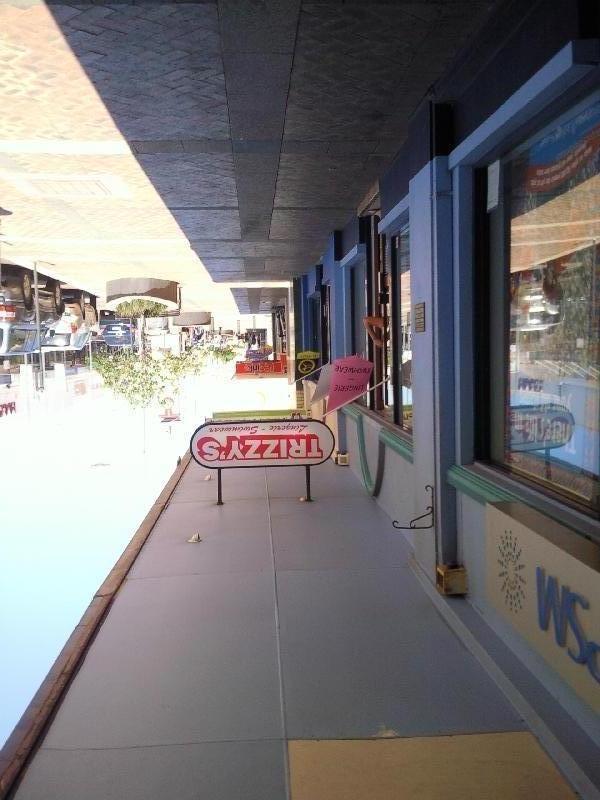 Shops in Geraldton, Australia