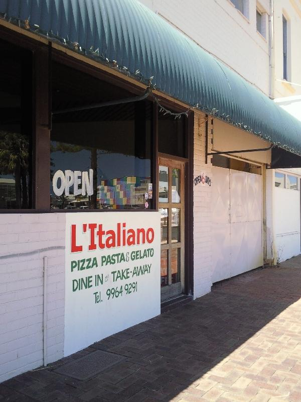 Italian restaurant in Geraldton, Geraldton Australia