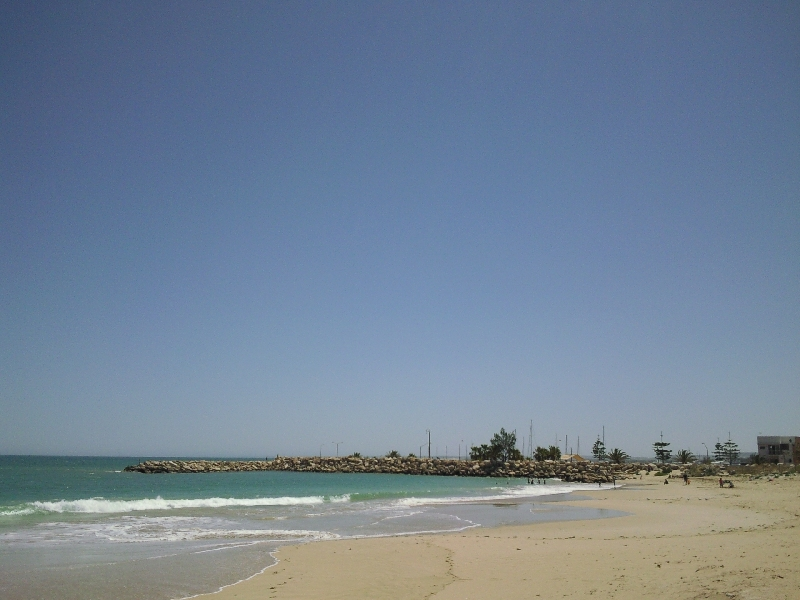 Pictures of the beach in Geraldton, Australia