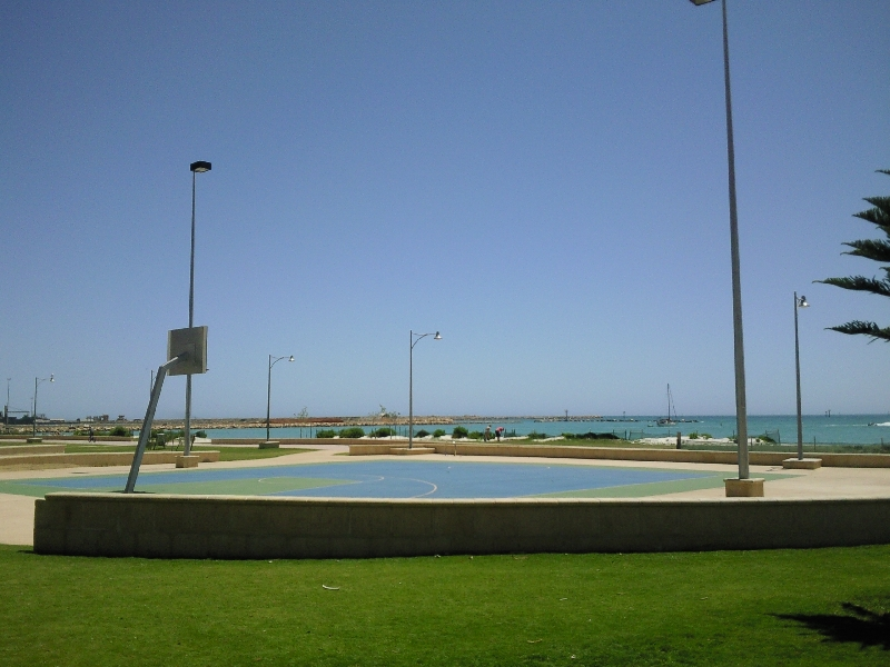 The esplanade in Geraldton, Australia