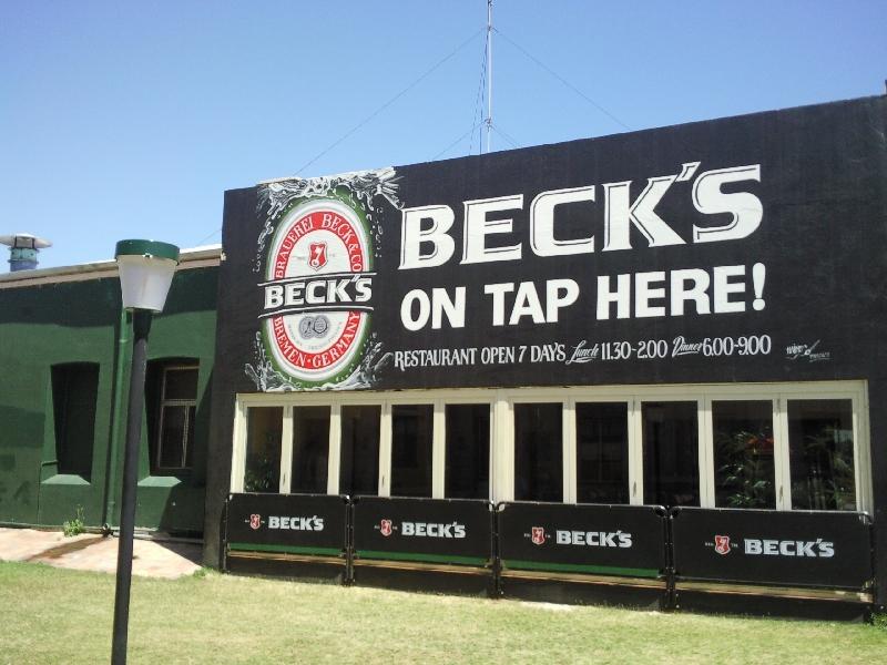 Beck's mural in Geraldton, Geraldton Australia