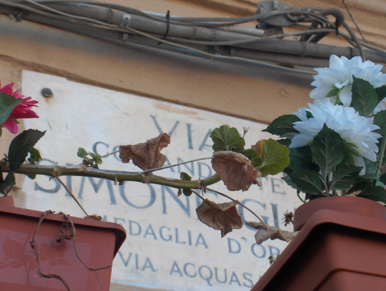 Via Simone Guli in Palermo, Italy