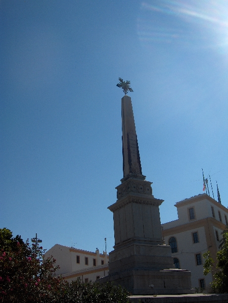 The centre of Palermo, Italy