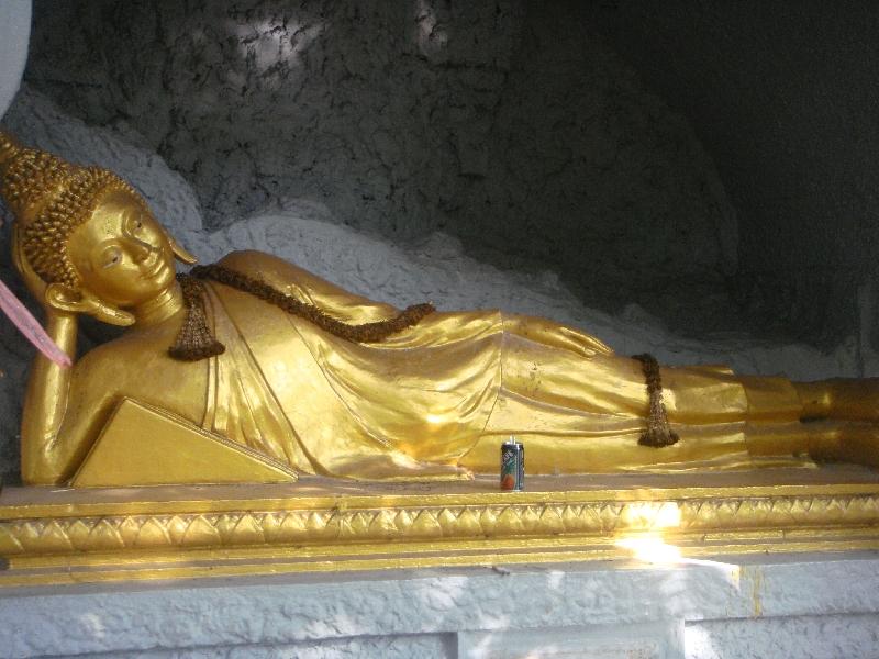 Reclining Golden Buddha, Thailand