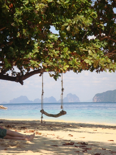 Swing on Ko Kradan, Thailand