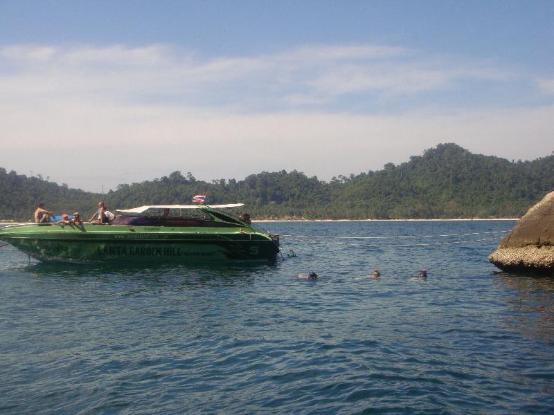Day trip Ko Chueak, Ko Kradan Thailand