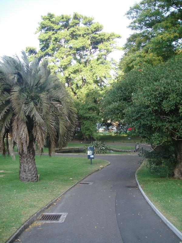 Sydney Australia The Sydney Royal Botanical Gardens