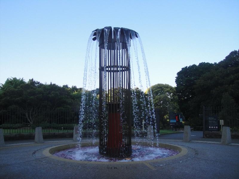 Fountain Sydney Botanical Gardens, Australia
