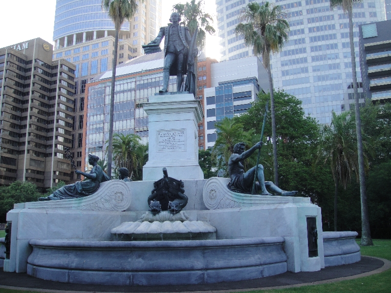 Arthur Philip Monument in Sydney, Australia