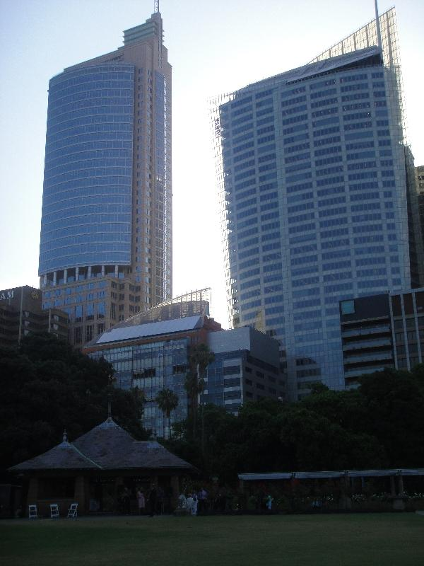 Sydney Australia Sudney CBD from the gardens