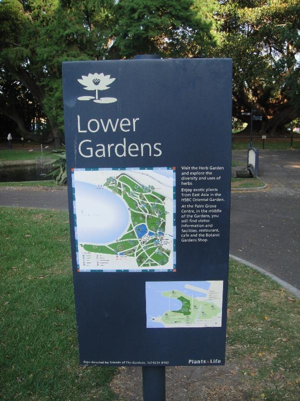 Pictures of Royal Botanical Gardens, Sydney Australia