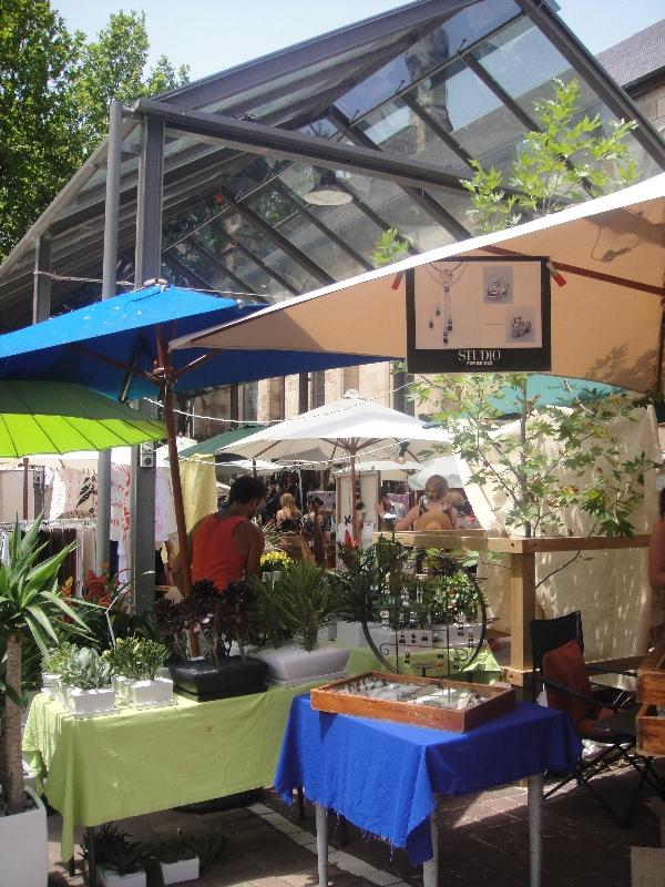 Plants and jewelry in Paddington, Australia