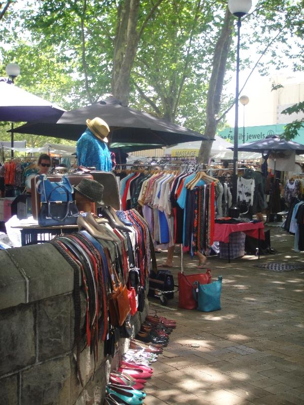 Vintage clothing in Sydney, Oxford St, Australia