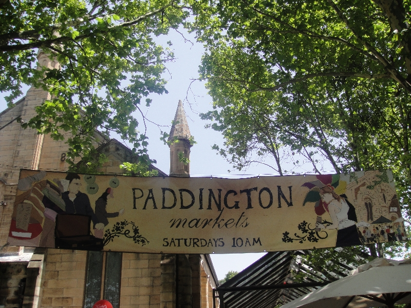 Satuday Paddington Market, Sydney Australia