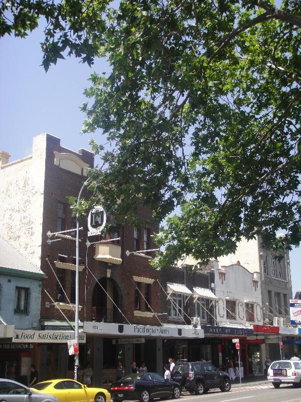 Street panorama Oxford Street, Australia