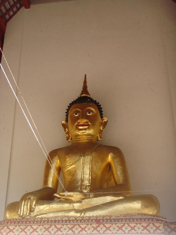 Golden Buddha Statue, Chiang Mai Thailand