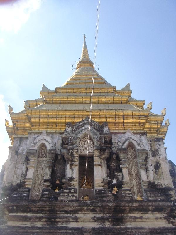 The Golden Stupa, Chiang Mai Thailand